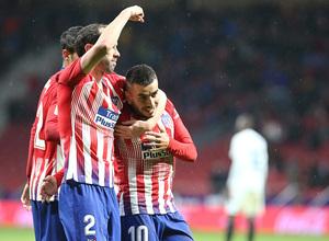 Temporada 18/19   Atlético de Madrid - Valencia   Correa celebración