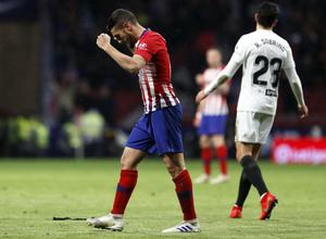 Temporada 18/19   Atlético de Madrid - Valencia   Koke