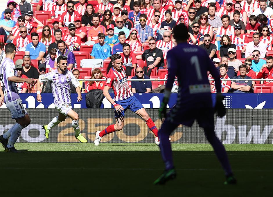 Temporada 18/19 | Atlético de Madrid - Valladolid | Saúl