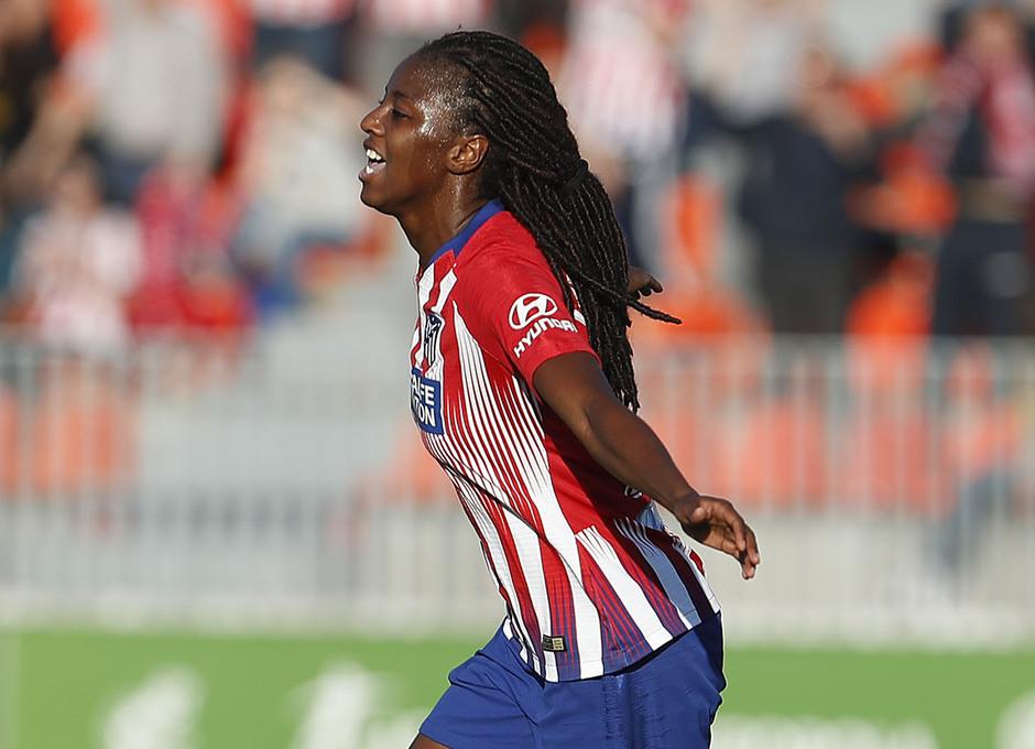 Temporada 18/19 | Atlético de Madrid Femenino- Valencia | Tounkara