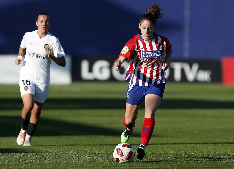 Temporada 18/19 | Atlético de Madrid Femenino- Valencia | Esther