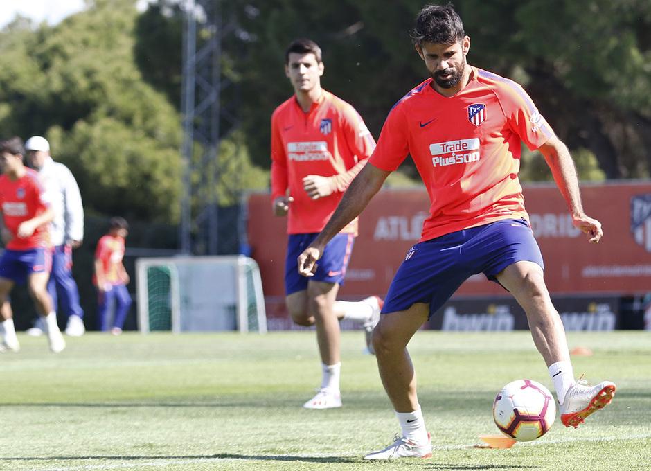 Temporada 18/19 | Entrenamiento del primer equipo | 30/04/2019 | Diego Costa