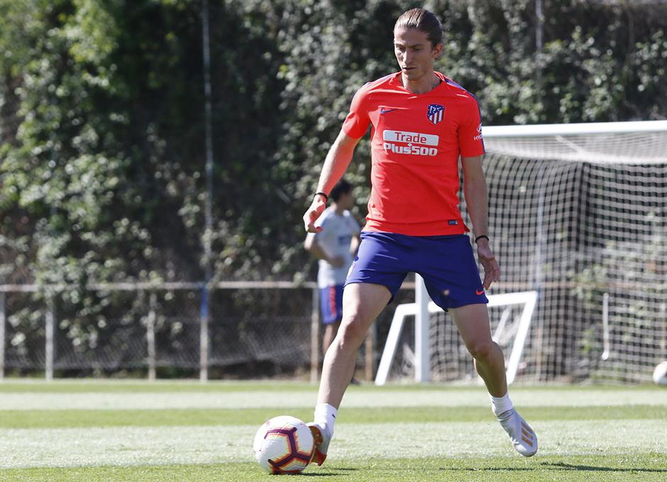 Temporada 18/19 | Entrenamiento del primer equipo | 30/04/2019 | Filipe Luis