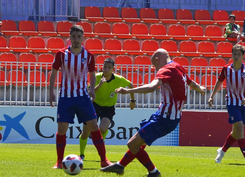 Temporada 18/19 | Atlético de Madrid B - Rápido de Bouzas | Mollejo