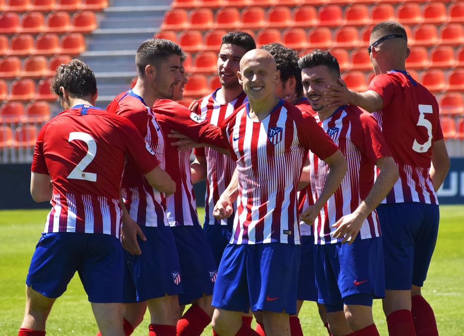 Temporada 18/19 | Atlético de Madrid B - Rápido de Bouzas | Gol de Mollejo