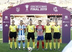 Temporada 18/19   Atlético de Madrid - Real Sociedad   Final de la Copa de la Reina   Amanda