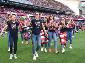 Temp. 2018-19 | Atlético de Madrid - Sevilla | Celebración Atlético de Madrid Femenino
