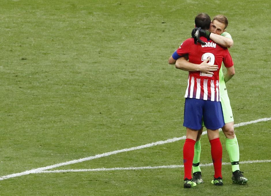 Temporada 18/19 | Atlético - Sevilla | Despedida Diego Godín y Oblak