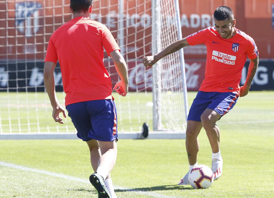 Temporada 18/19 | Entrenamiento del primer equipo | 15/05/2019 | Correa