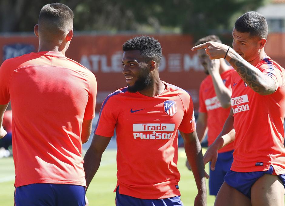 Temporada 18/19   Entrenamiento del primer equipo   15/05/2019   Lemar