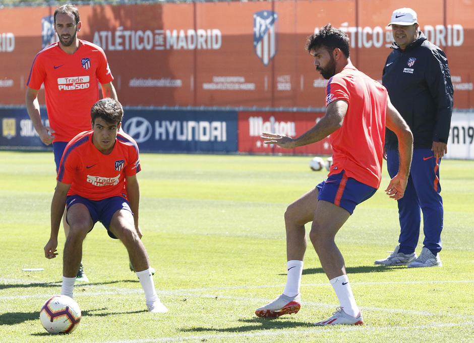 Temporada 18/19   Entrenamiento del primer equipo   15/05/2019   Costa