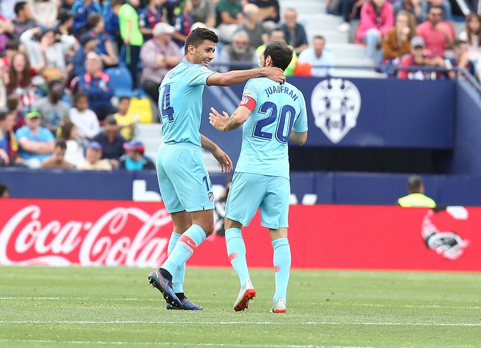 Temp. 2018-19 | Levante - Atlético de Madrid | Rodrigo y Juanfran