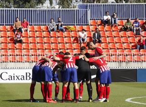 Temporada 18/19 | Atlético B - Las Palmas B |  Piña