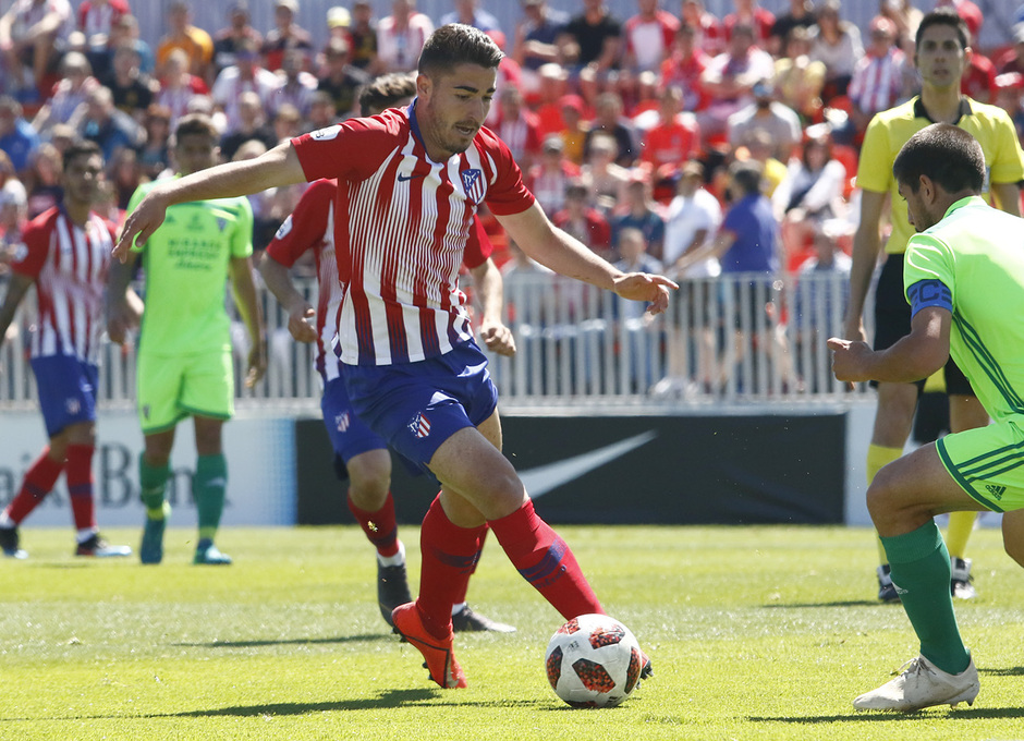 Temporada 18/19 | Atlético B-CD Mirandés | Toni Moya
