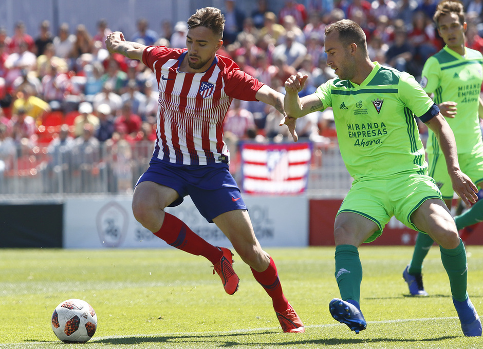 Temporada 18/19 | Atlético B-CD Mirandés | Darío Poveda