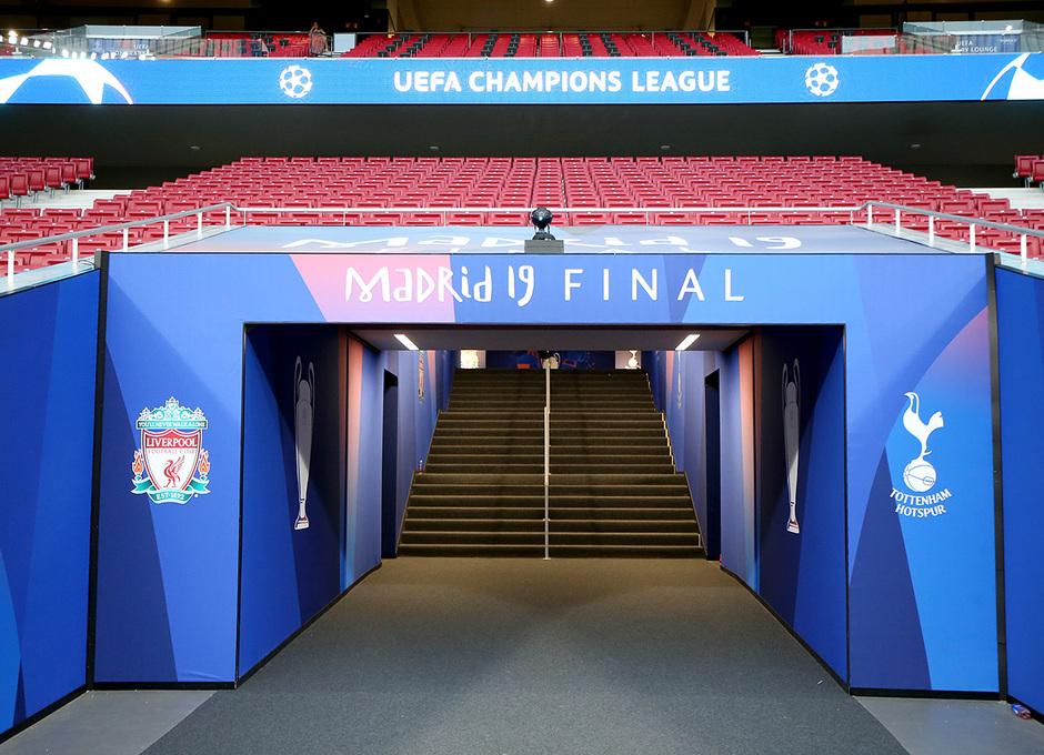 Temporada 18/19 | Wanda Metropolitano final de la Champions