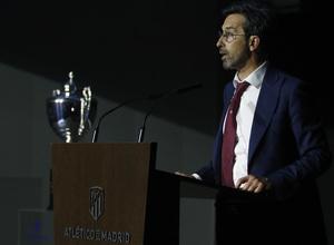 Wanda Football Cup | Presentación del torneo en el Wanda Metropolitano | Emilio Gutiérrez