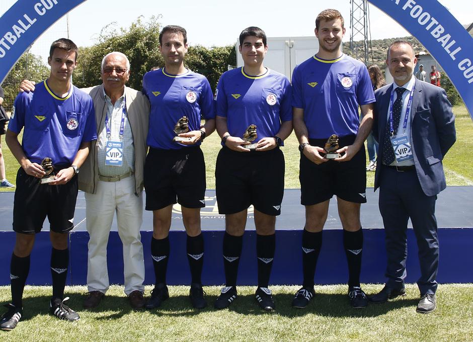 Wanda Football Cup 18/19 | Entrega de premios | Árbitros