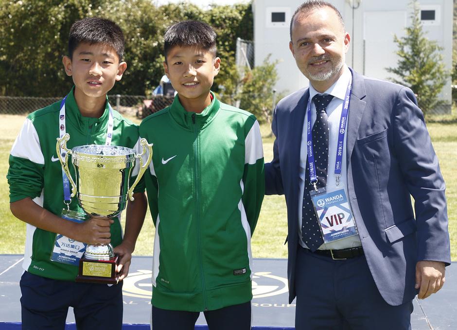 Wanda Football Cup 18/19 | Entrega de premios | Equipo Wanda (11º posición)