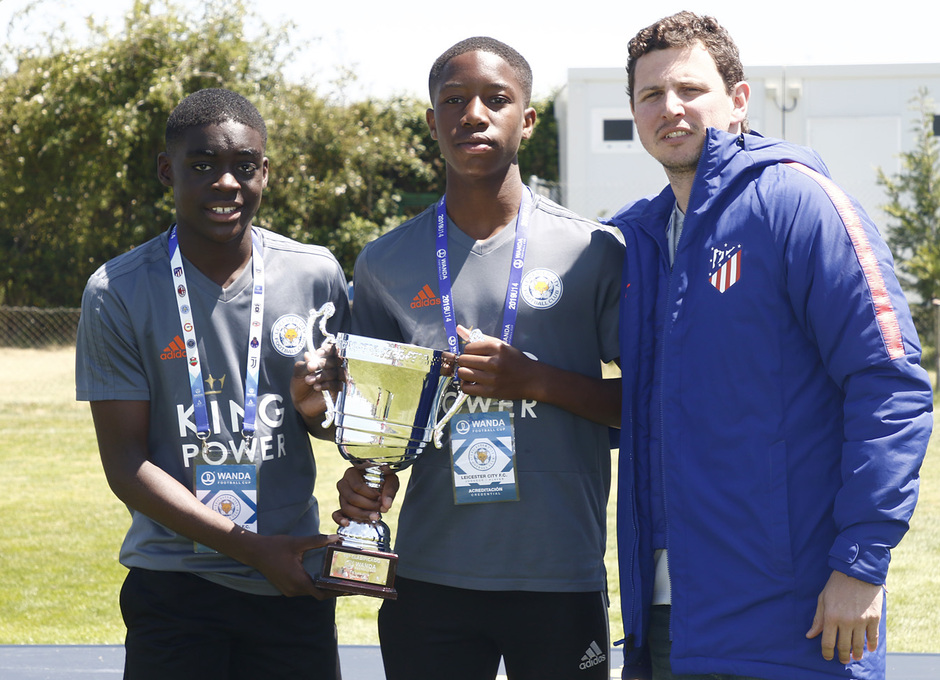 Wanda Football Cup 18/19 | Entrega de premios | Leicester City (10º posición)