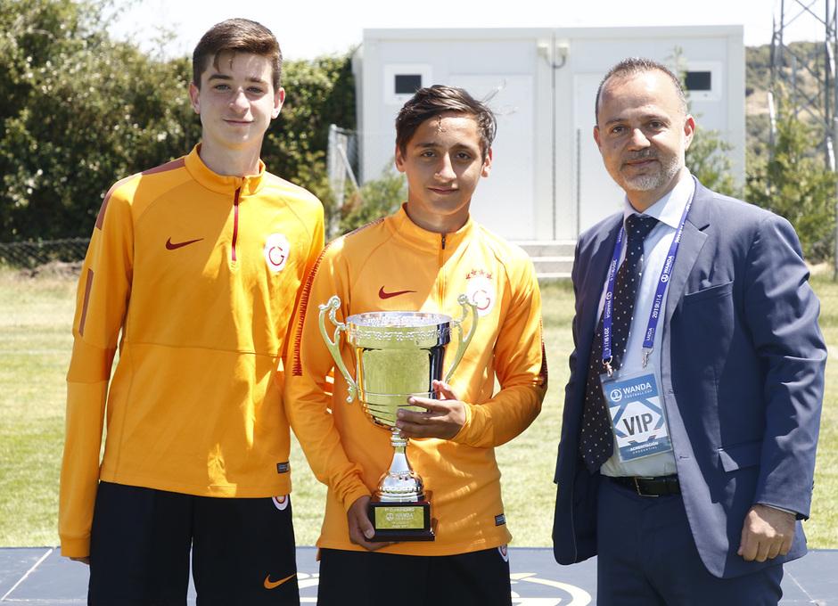 Wanda Football Cup 18/19 | Entrega de premios | Galatasaray (9º posición)