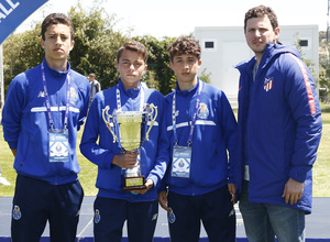 Wanda Football Cup 18/19 | Entrega de premios | FC Porto (8º posición)