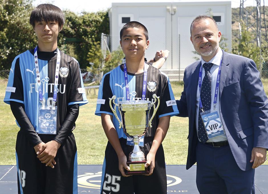 Wanda Football Cup 18/19 | Entrega de premios | Kawasaki (7º posición)