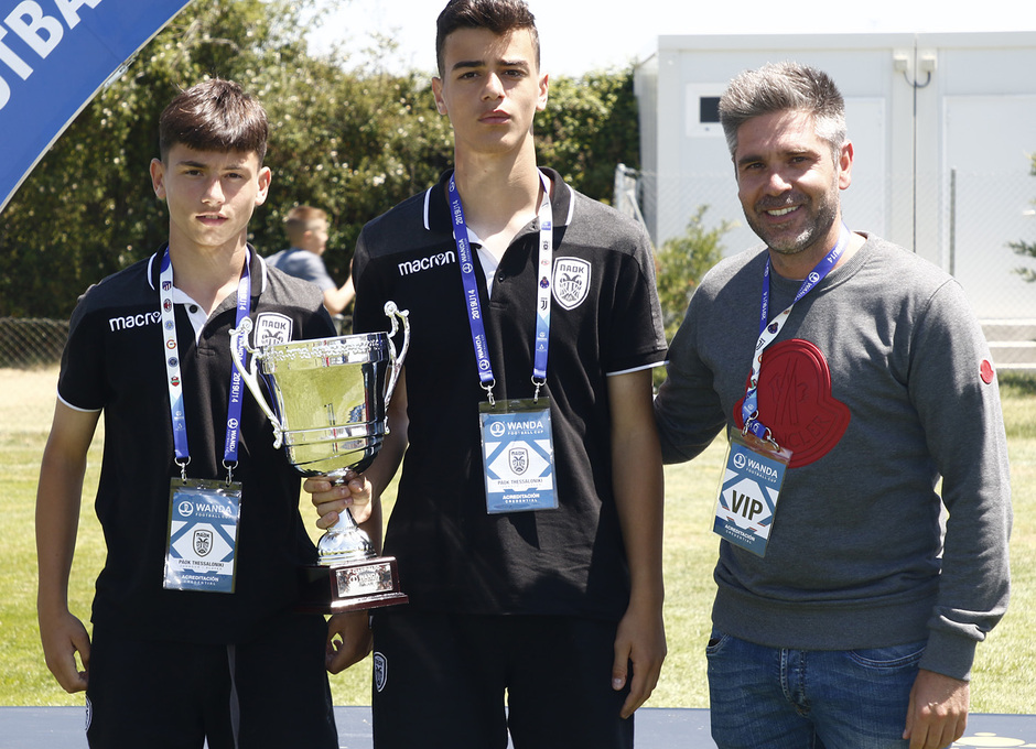 Wanda Football Cup 18/19 | Entrega de premios | PAOK (4º posición)