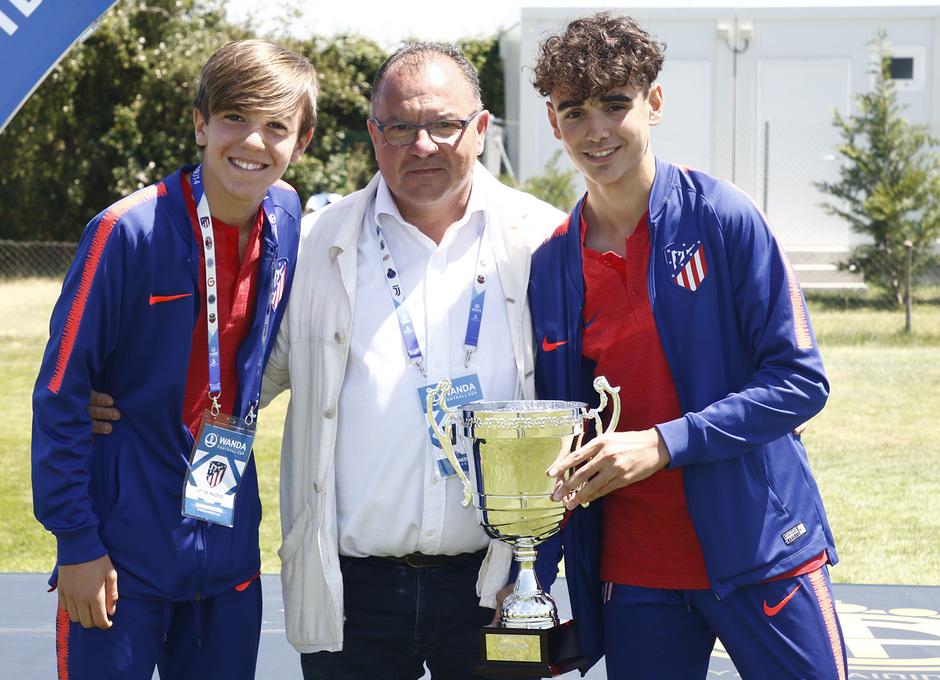 Wanda Football Cup 18/19 | Entrega de premios | Atlético de Madrid (3º posición)