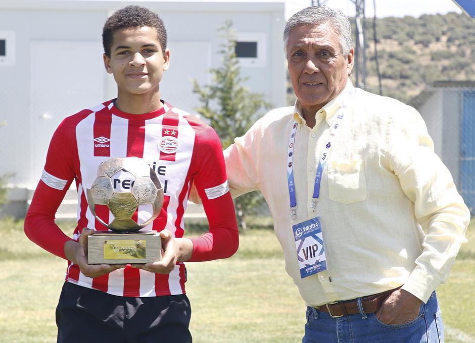 Wanda Football Cup 18/19 | Entrega de premios | Premio máximo goleador - PSV