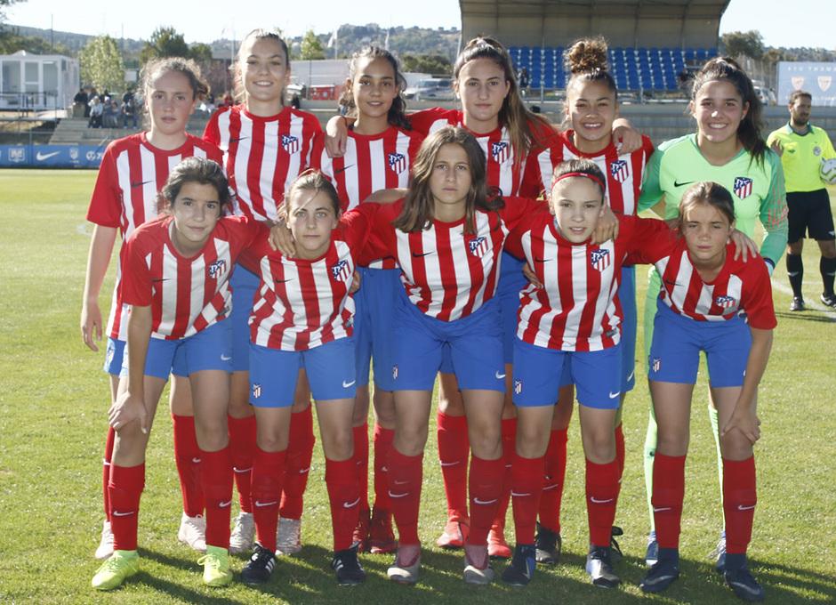 Temp 18/19 | Women's Football Cup | Atlético de Madrid Infantil A
