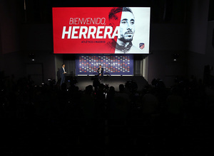 temporada 19/20. Presentación Héctor Herrera