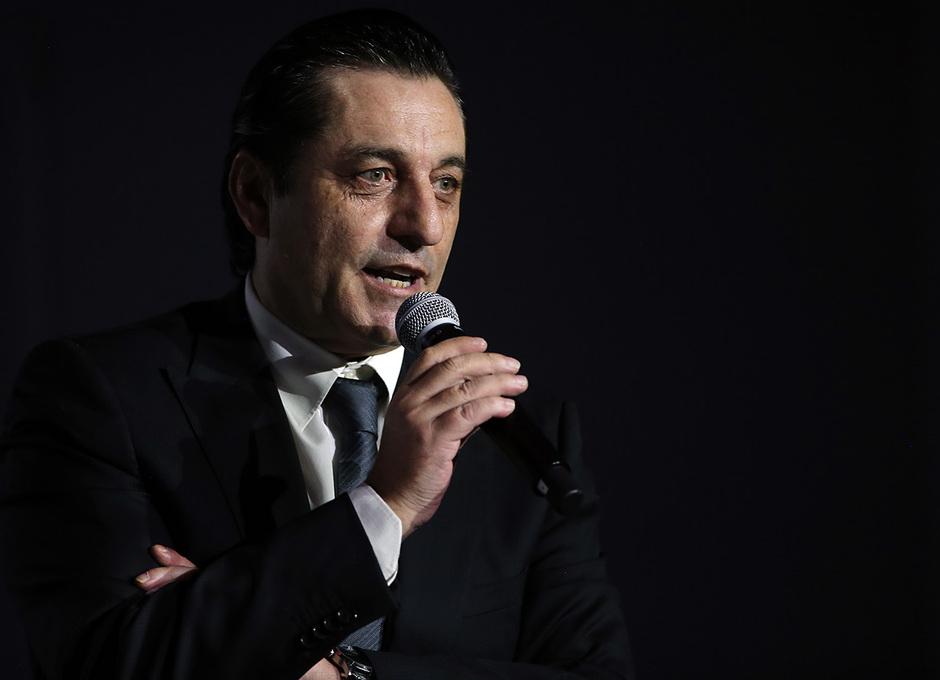 Temporada 2019/20. Presentación de João Félix en el auditorio del Wanda Metropolitano. Futre