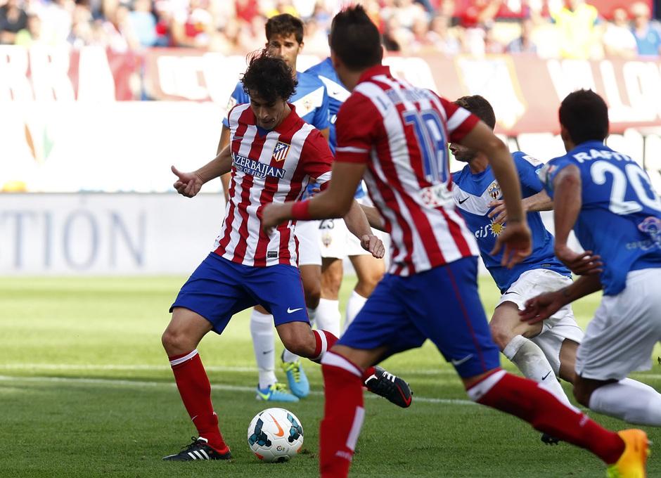 Temporada 13/14. Partido Atlético de Madrid Almería. Gol de Tiago