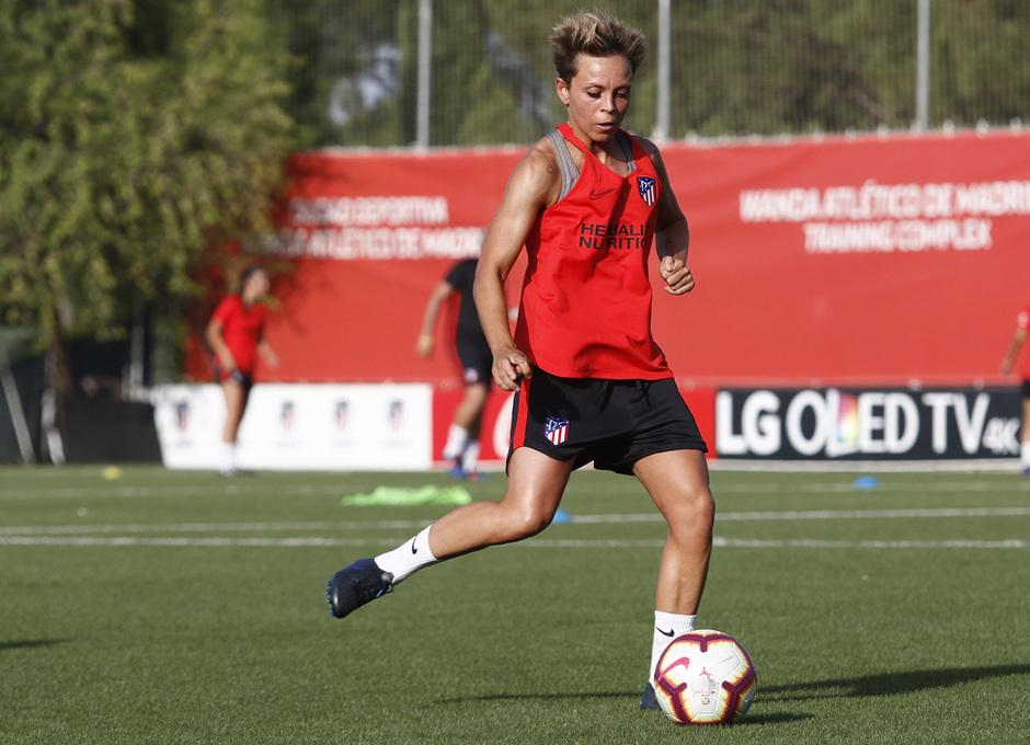 Temp. 19-20   Entrenamiento Atlético de Madrid Femenino   Amanda