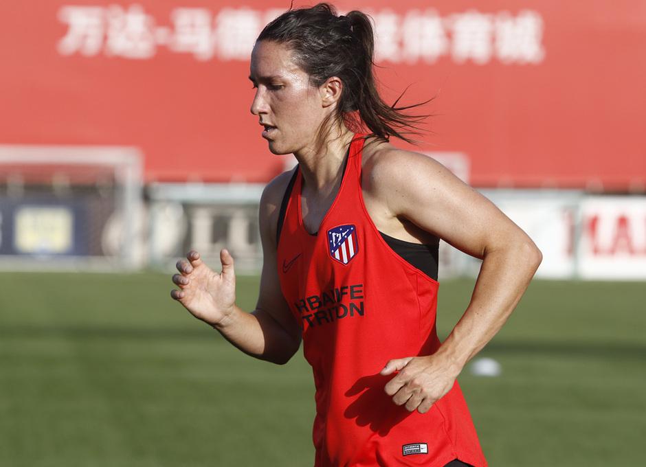 Temp. 19-20   Entrenamiento Atlético de Madrid Femenino   Meseguer