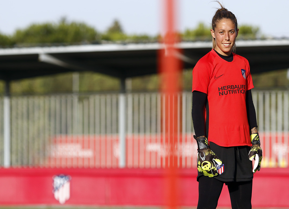 Temp. 19-20   Entrenamiento Atlético de Madrid Femenino   Lola Gallardo
