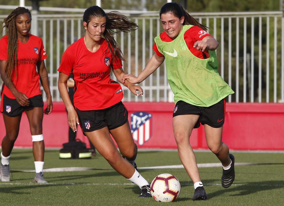 Temp. 19-20   Entrenamiento Atlético de Madrid Femenino   Chidiac