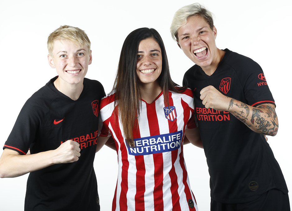 Temporada 19/20 | Shooting Femenino | Natiia, Linari, Chidiac