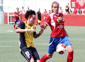 Temporada 2013-2014. Atlético de Madrid Féminas-UD Collerense