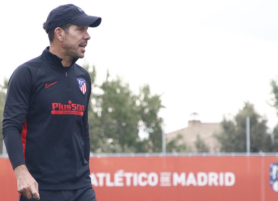 Temporada 19/20 | Entrenamiento del primer equipo | 07/08/2019 | Simeone