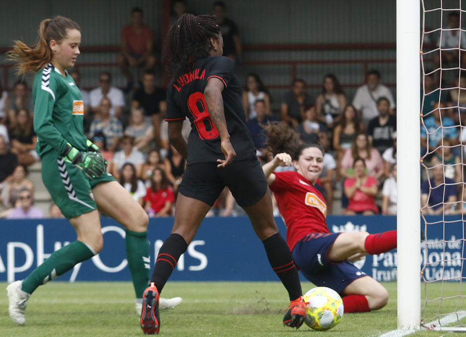 Temp. 19-20 | Osasuna - Atlético de Madrid Femenino | Ludmila