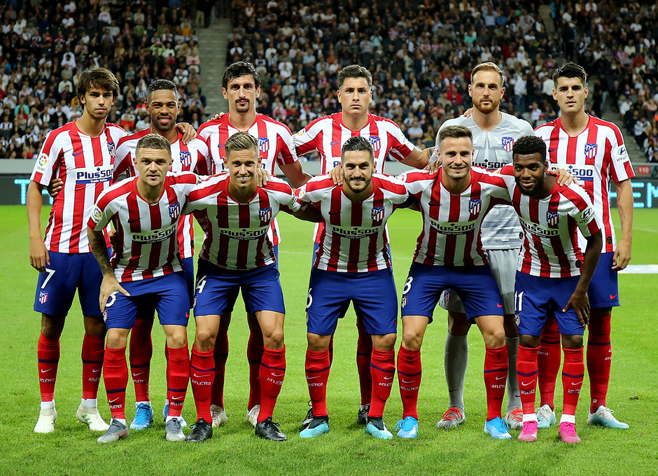 Club Atletico De Madrid The Action From Atleti Juve