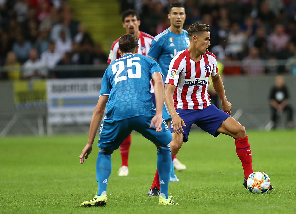 Temporada 19/20 | Atlético de Madrid - Juventus | Llorente