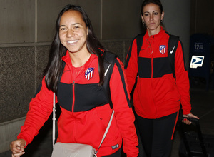 Temp. 19-20 | Llegada Atlético de Madrid Femenino a Raleigh | Charlyn