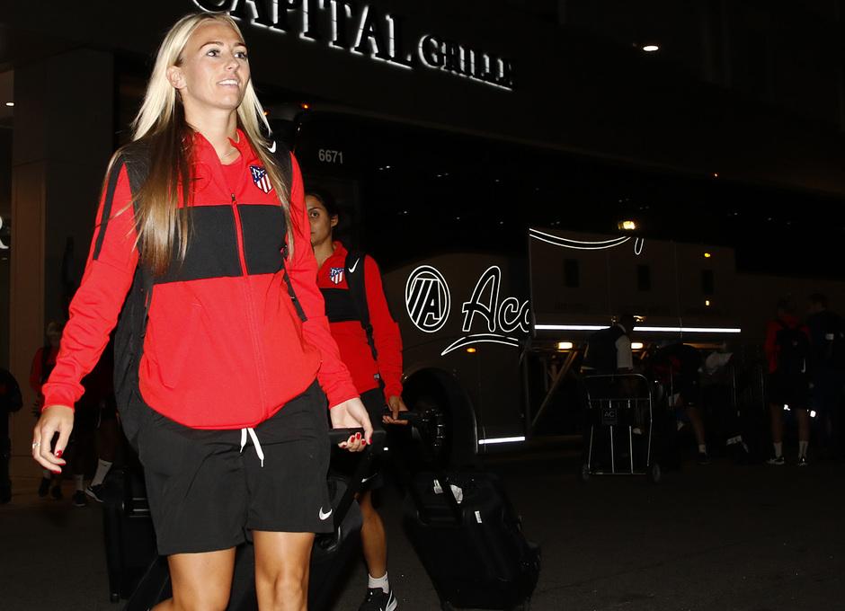 Temp. 19-20 | Llegada Atlético de Madrid Femenino a Raleigh | Toni Duggan