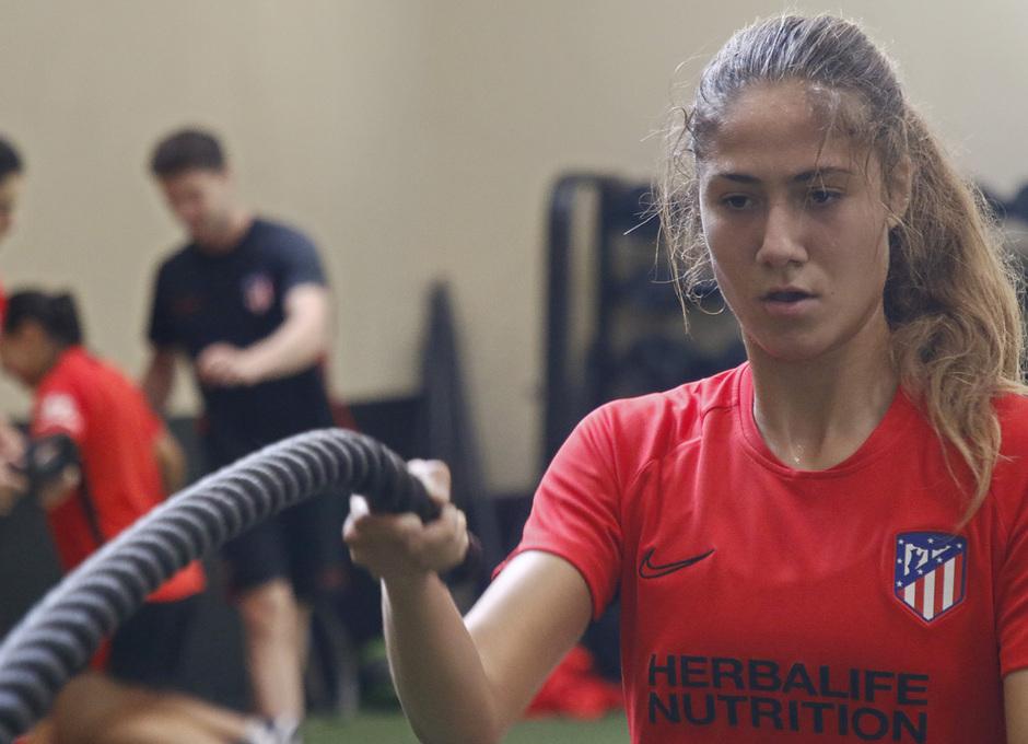 Temporada 19/20 | Entrenamiento del Atlético femenino en Raleigh | Laia