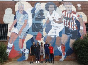 Temp. 19-20 | Presentación de la International Champions Cup | Atlético de Madrid Femenino | Duggan y Amanda