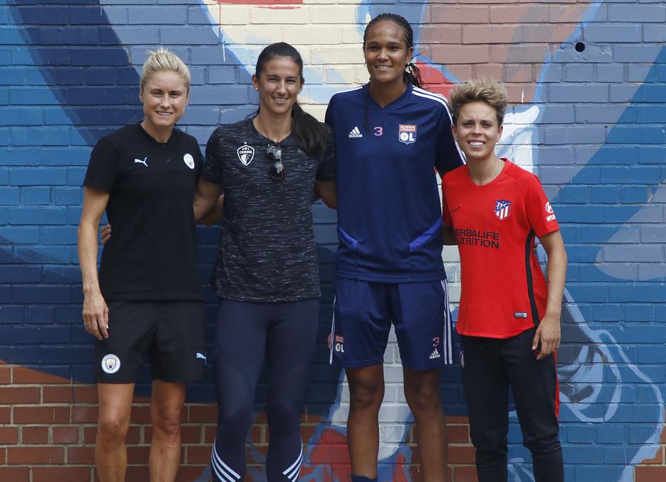 Temp. 19-20 | Presentación de la International Champions Cup | Atlético de Madrid Femenino | Amanda