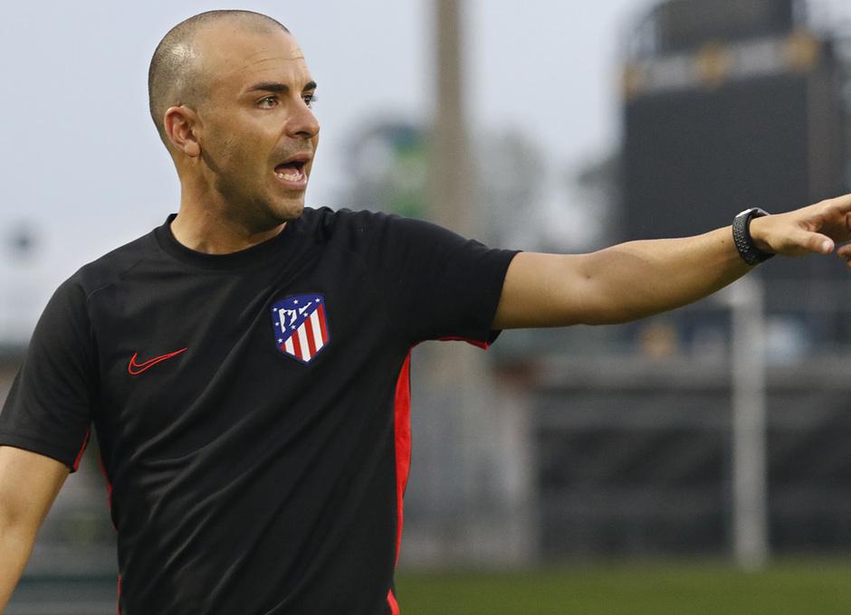 Temporada 19/20   Entrenamiento del Atlético femenino en Raleigh   José Luis Sánchez Vera